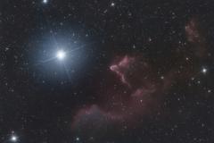 Fantasmi in Cassiopea  IC 59 e IC 63