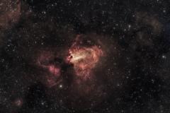 Nebulosa Omega M 17