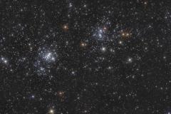 Doppio Ammasso di Perseo NGC 869 e NGC 884
