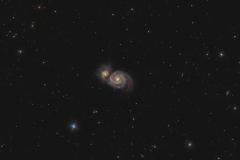 Galassia Vortice M 51