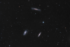 Tripletto del Leone M 66, M 65 e NGC 3628