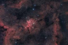 Melotte 15 e Nebulosa Cuore IC 1805