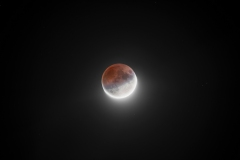 Luna eclissi parziale