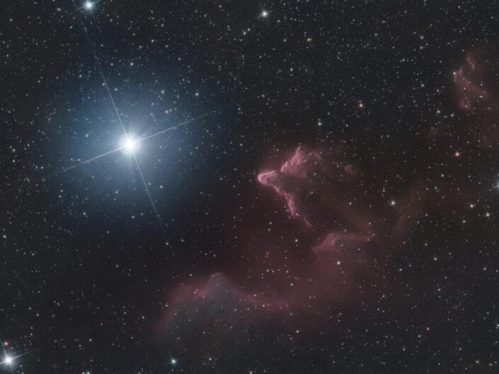 IC59 e IC 63 Fantasmi in Cassiopea