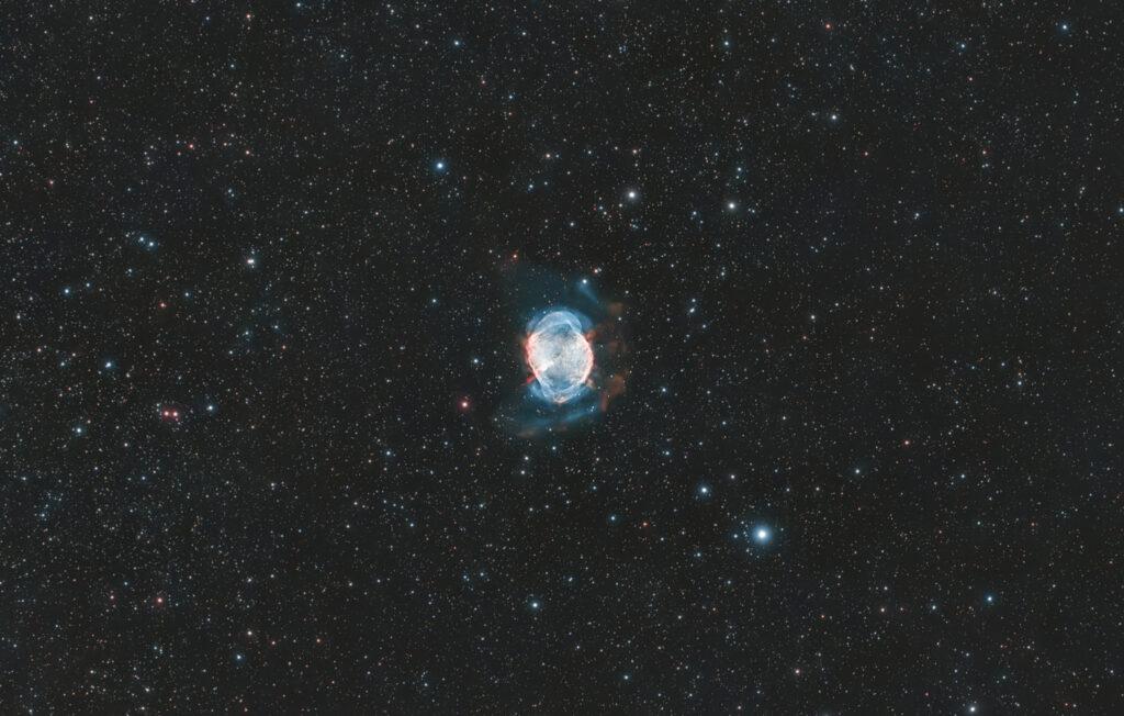 Nebulosa planetaria Manubrio M27