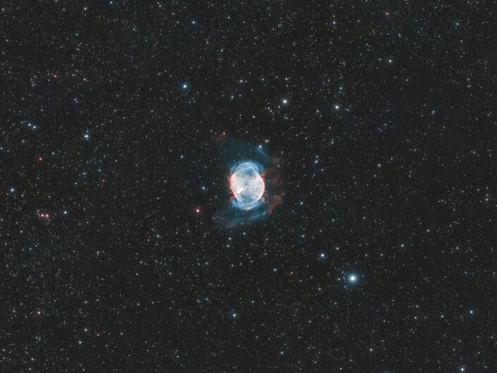 Nebulosa Manubrio - M27 con ASI 294 e Optolong L-enHance - Luca Fornaciari