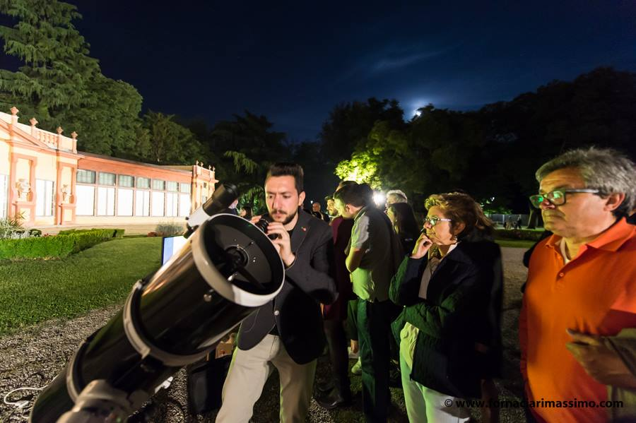 telescopio cibo e racconti