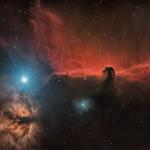 Nebulosa Testa di Cavallo IC 434 ZWO ASI 294 MC Pro Recensione