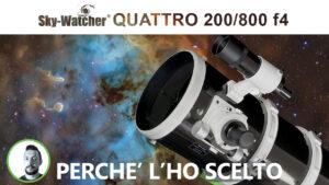 Sky-Watcher Newton QUATTRO 200/800 f4