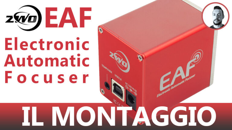 ZWO EAF-Electronic Automatic Focuser - Il montaggio