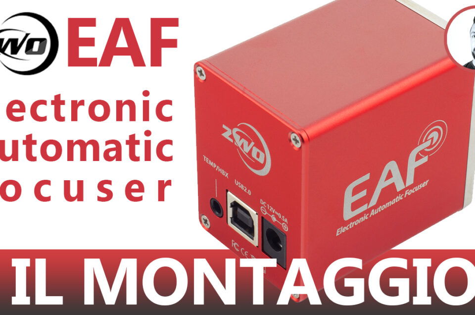ZWO EAF-Electronic Automatic Focuser - Il montaggio