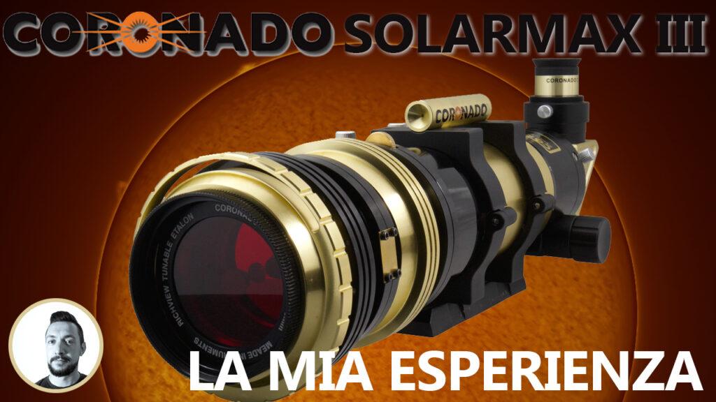Recensione Coronado Solarmax III 70 BF10