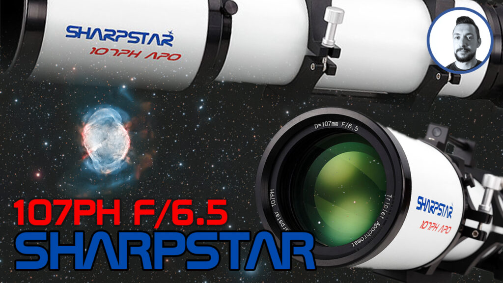 Rifrattore Sharpstar 107 PH Tripletto F/6.5 astrotest