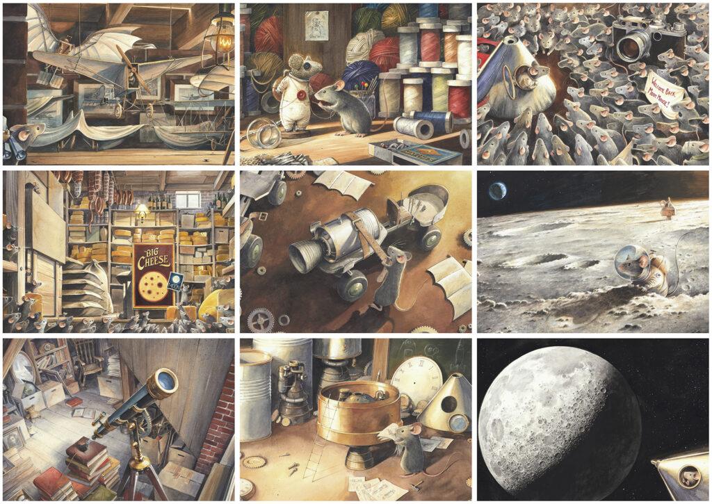 Armstrong L'avventurosa storia del primo topo sulla Luna
