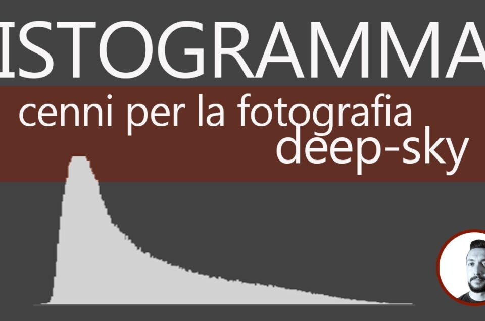 Astrofotografia messa a fuoco live view e istogramma