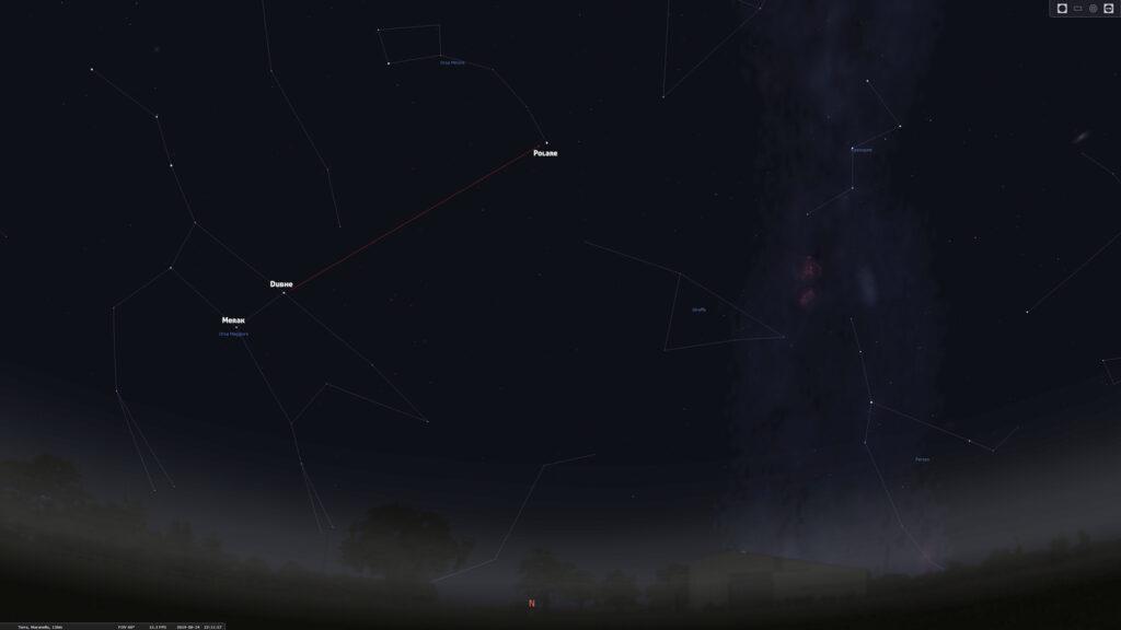Astrofotografia trovare la stella Polare