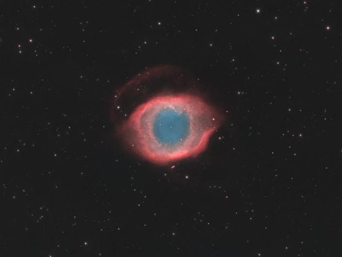 Polvere di Stelle l'arte dell'astrofotografia nebulosa elica helix NGC 7293