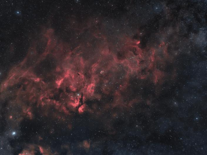 IC1318 - Sadr Region Crescent Nebula nebulosa Crescent NGC 6888