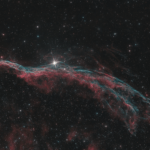 Nebulosa Velo NGC 6960 Recensione filtro IDAS NB1 Nebula Booster ZWO ASI 294 MC Pro Recensione