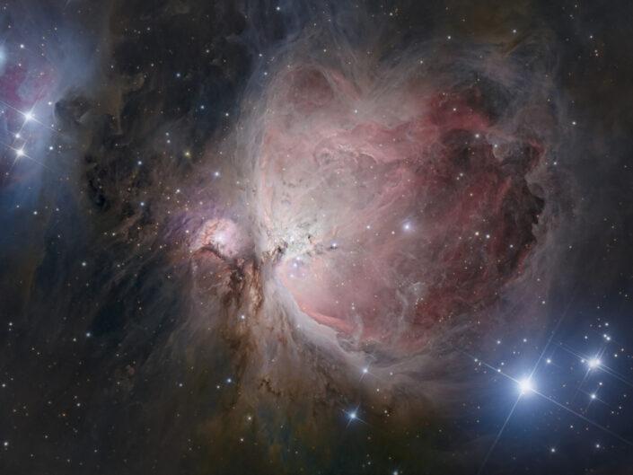 grande nebulosa di orione m42 astrofotografia luca fornaciari telescopio