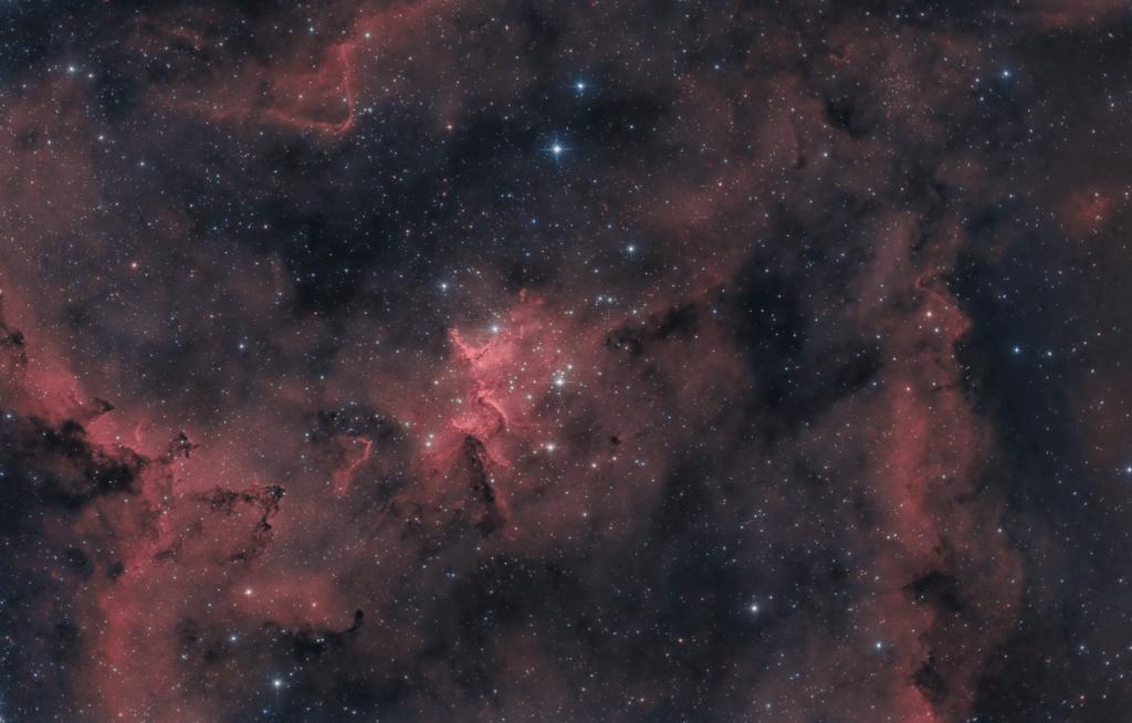 Melotte 15 nebulosa Cuore IC 1805 QHY294C Camera CMOS QHY con sensore Sony 294