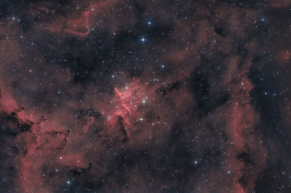 Melotte 15 nebulosa Cuore IC 1805