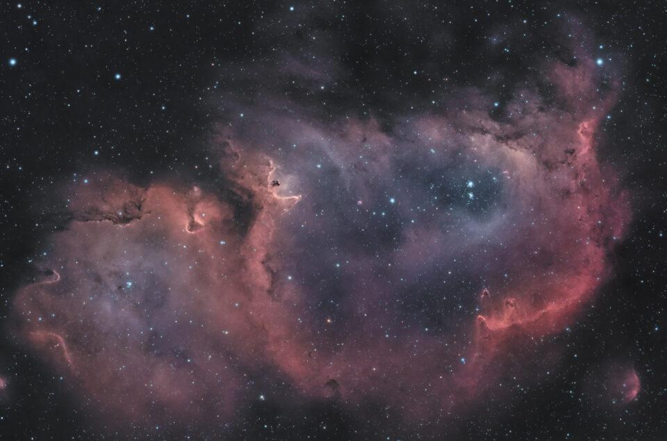 Nebulosa Anima IC 1848 astrofotografia