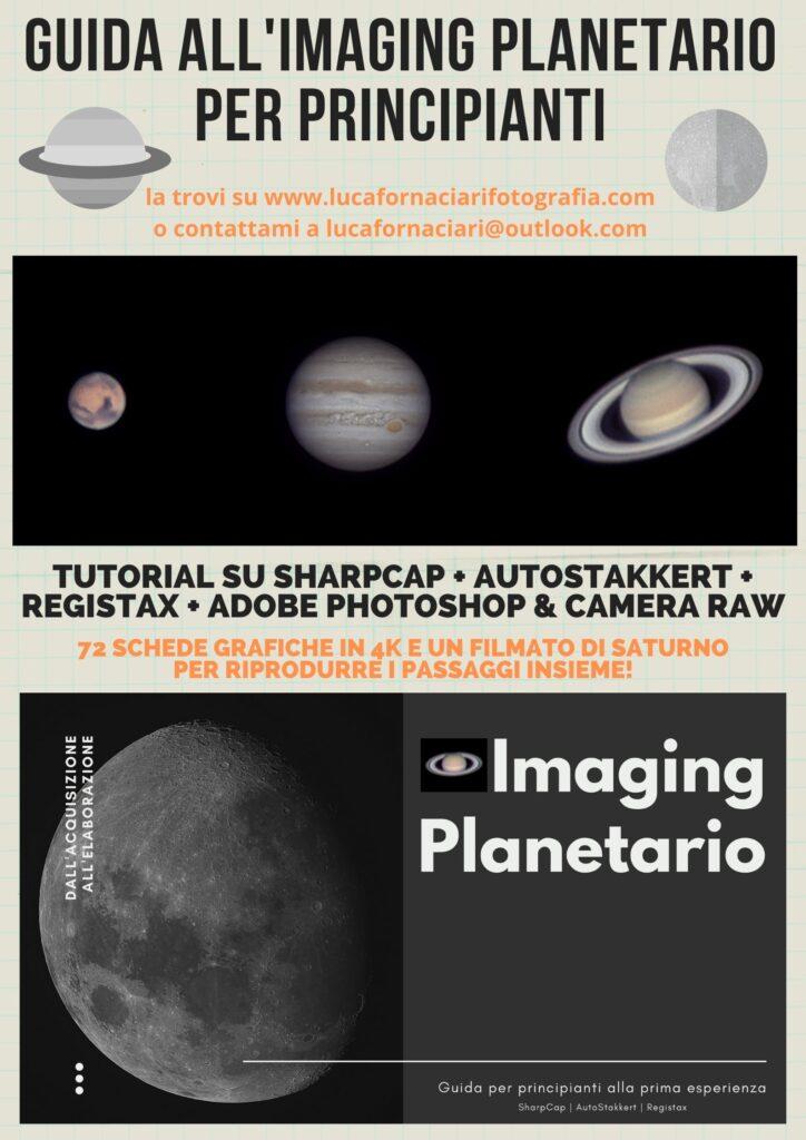 guida imaging planetario Guide e tutorial di astrofotografia