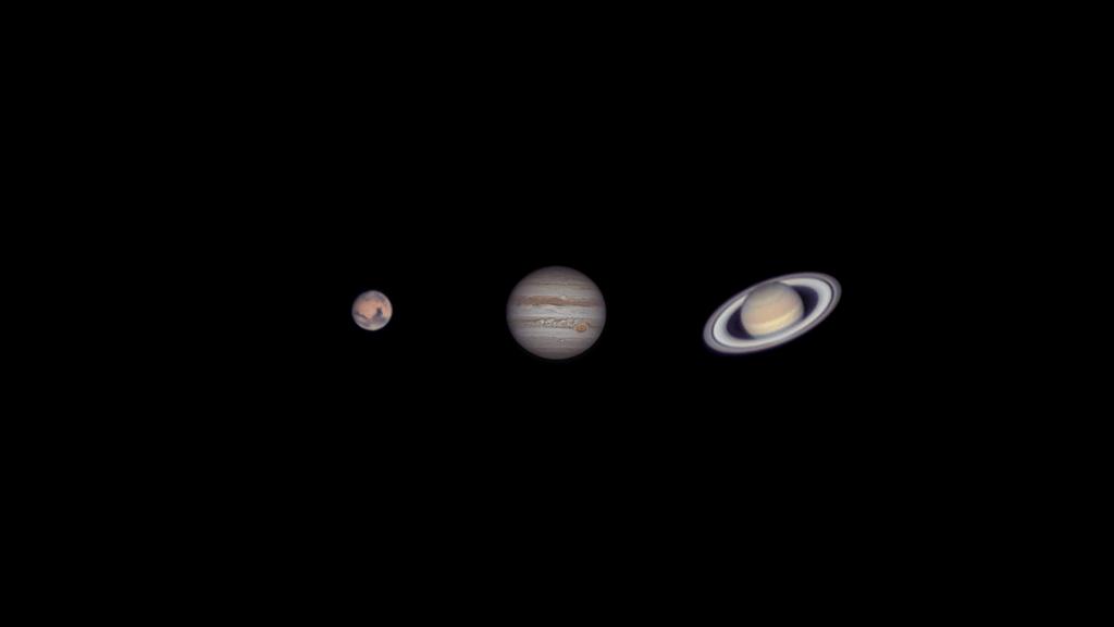 imaging planetario Marte, Giove e Saturnoluca fornaciari astrofotografia imaging planetario Come iniziare a fare Imaging Planetario a Luna e pianeti con un telescopio