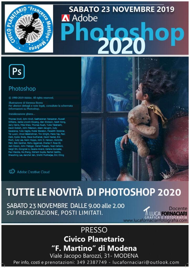 Adobe Photoshop 2020: tutte le novità!