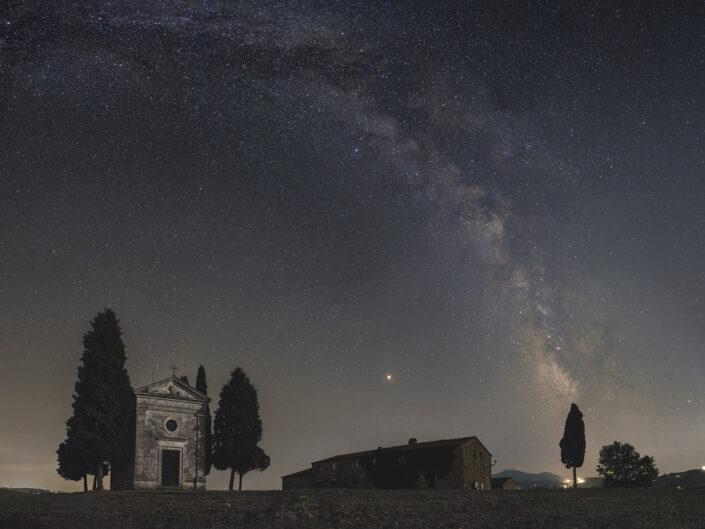 via lattea largo campo paesaggistica notturna astrofotografia astroinseguitore luca fornaciari stare adventurer