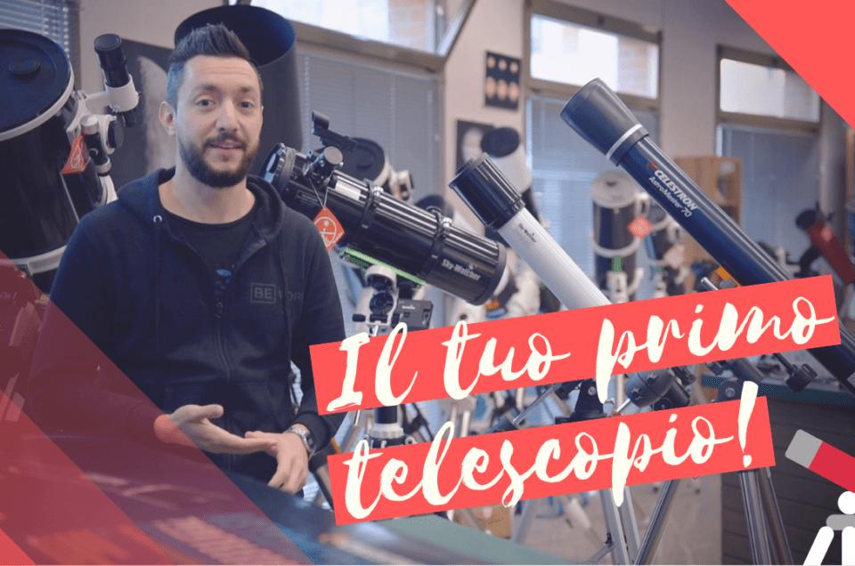 Come scegliere il migliore telescopio economico per te e i tuoi bambini!