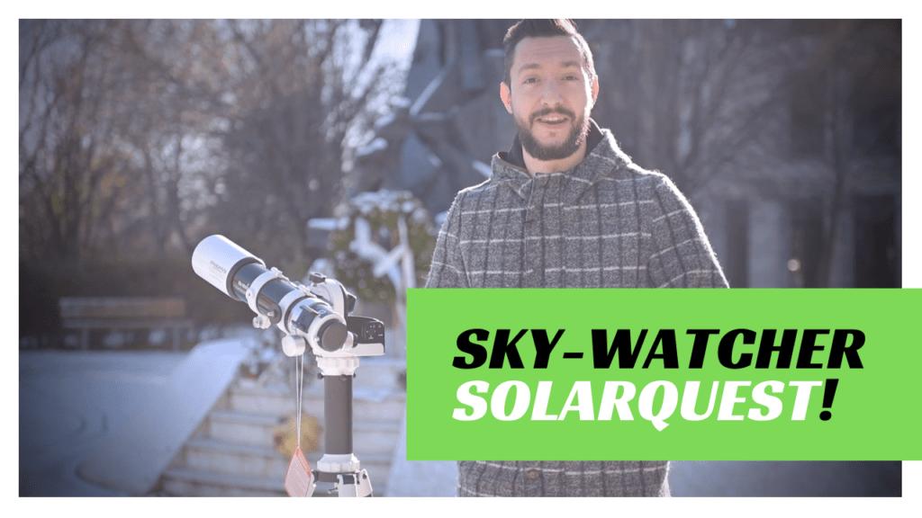 SkyWatcher SolarQuest montatura solare altazimutale