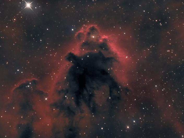 Boogeyman Nebula LDN 1622 nebulosa uomo nero orione ha astrofotografia 56 ori stella anello barnard