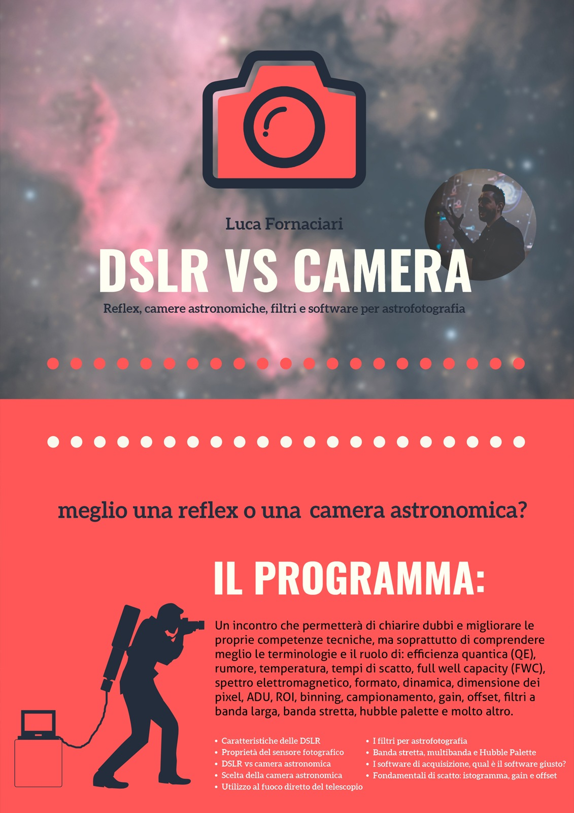 dslr vs cmos meglio reflex mirrorless camera astronomica ccd modificata modifica