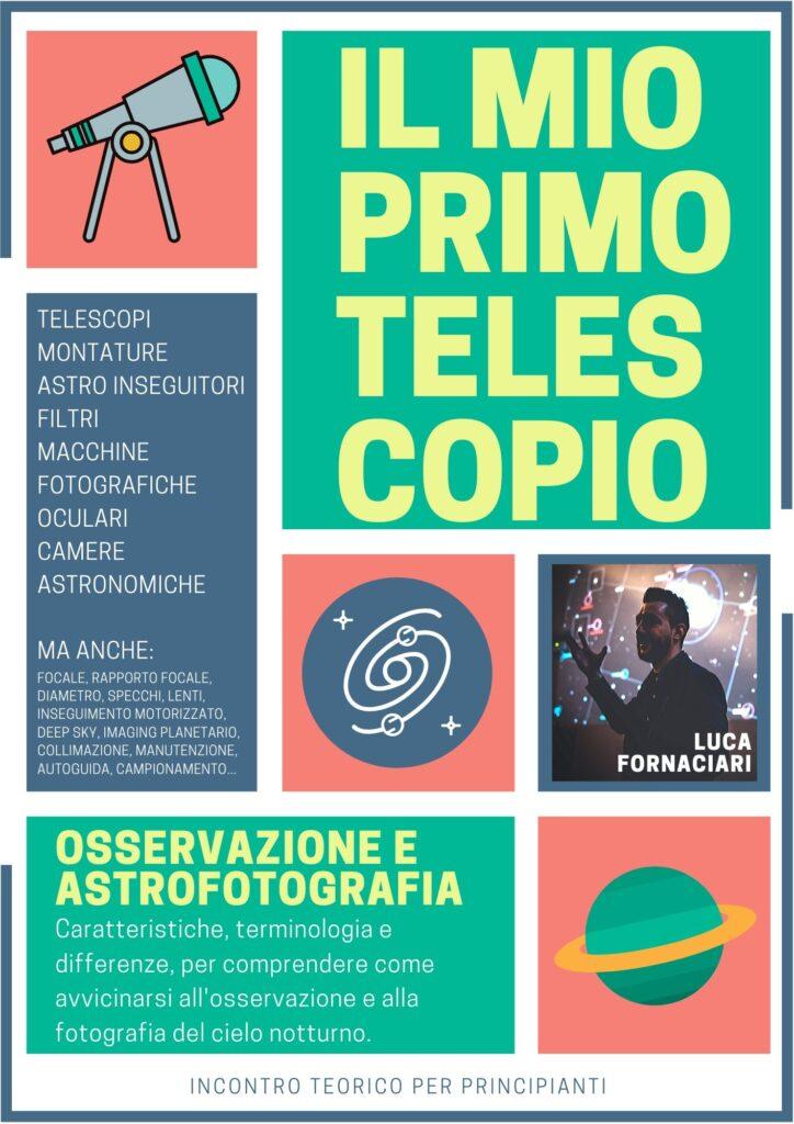 scelta telescopio astronomico astrofotografia osservazione primo economico vendita scegliere miglior migliore