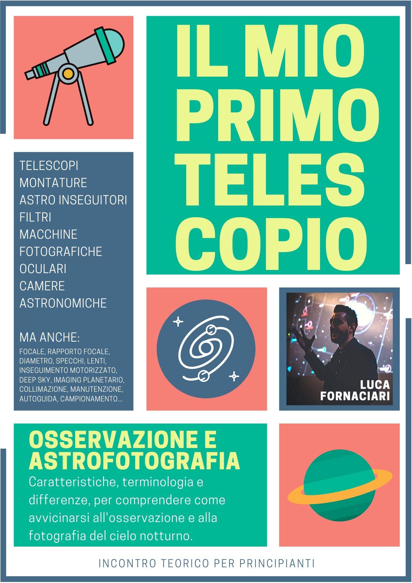 scelta telescopio astronomico astrofotografia osservazione primo economico vendita scegliere miglior migliore Il tuo Primo Telescopio Astronomico