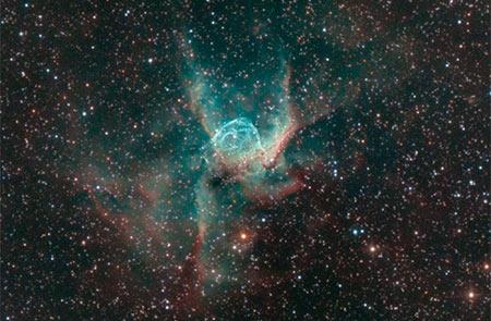 Luca Fornaciari astrofotografia Nebulosa Elmo di Thor