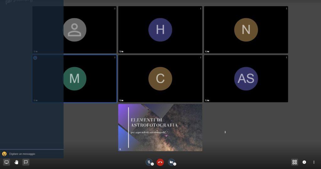 webinar luca fornaciari corso aula formazione adobe lezione photoshop lightroom camera raw astrofotografia