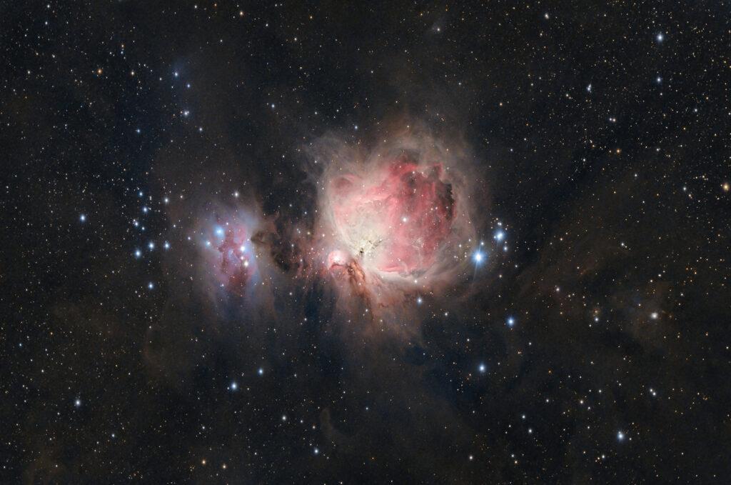 grande nebulosa di orione m42 rasa 8