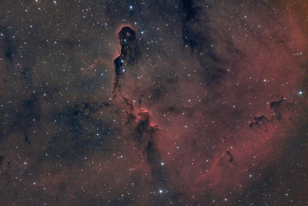 Nebulosa Proboscide d'elefante IC 1396 Filtro Optolong L-eXtreme recensione e prove