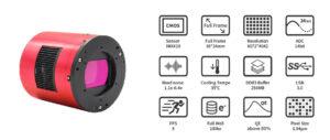 zwo camera astrofotografia colore raffreddata Nuova ASI 2400 MC Pro prime prove