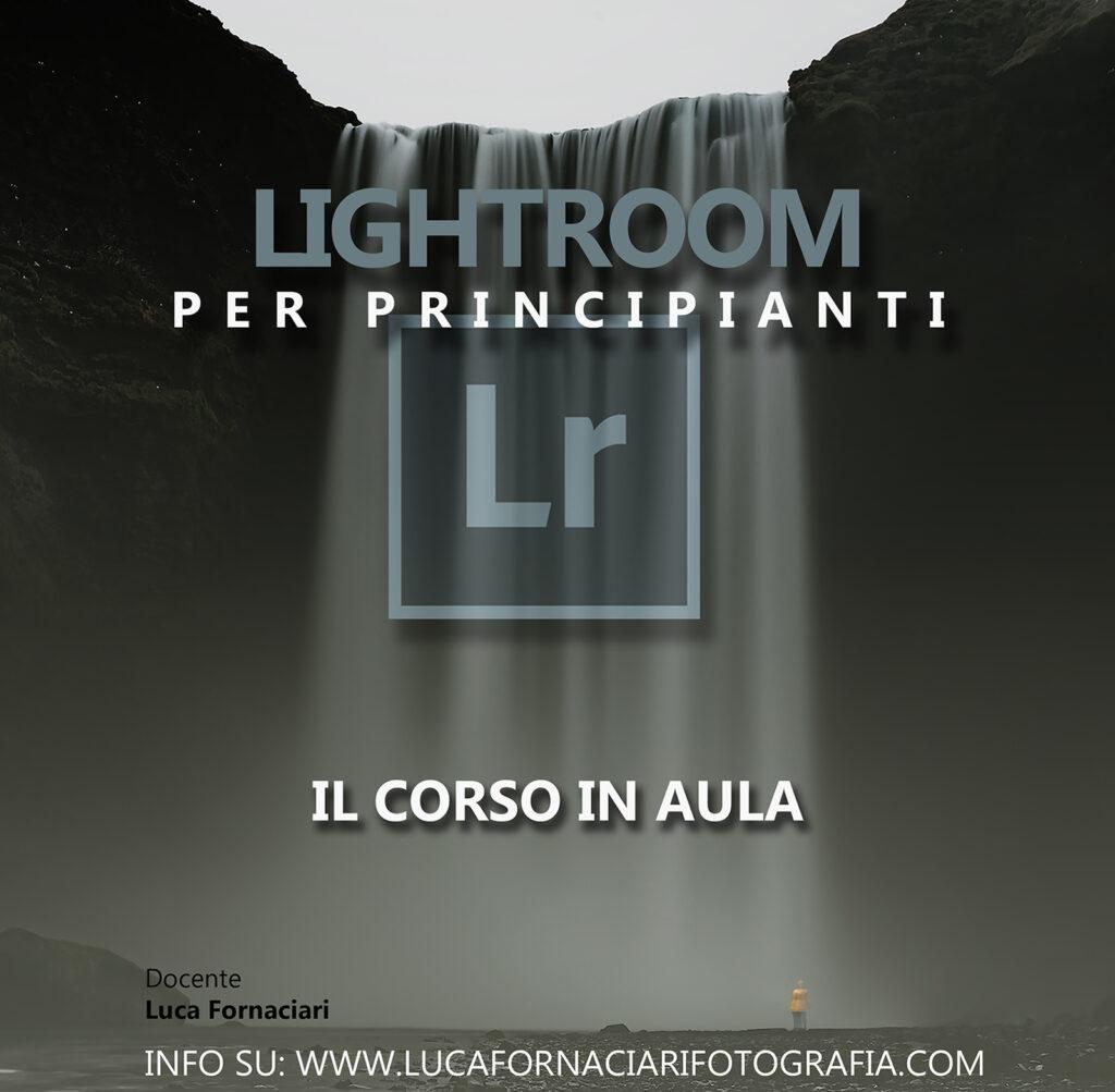 Adobe Lightroom per principianti tutorial scuola modena guida aula lezione lezioni