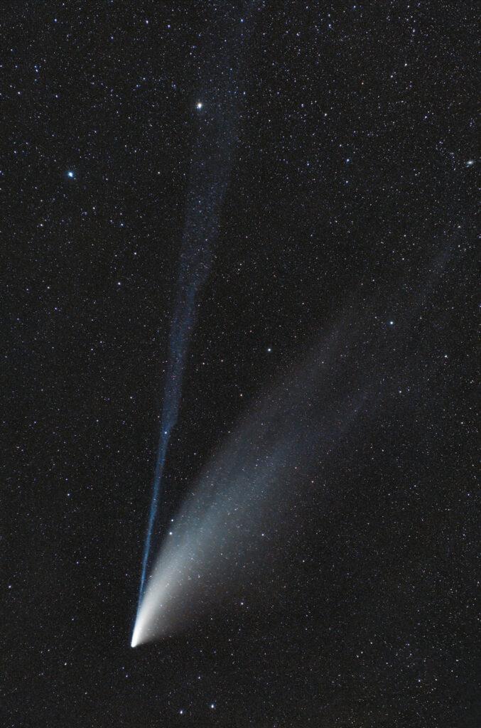 Cometa C/2020 F3 Neowise astrofotografia modena cimone passo del lupo lago della ninfa nikon astroinseguitore star adventurer sky watcher astrofotografia paesaggistica notturna