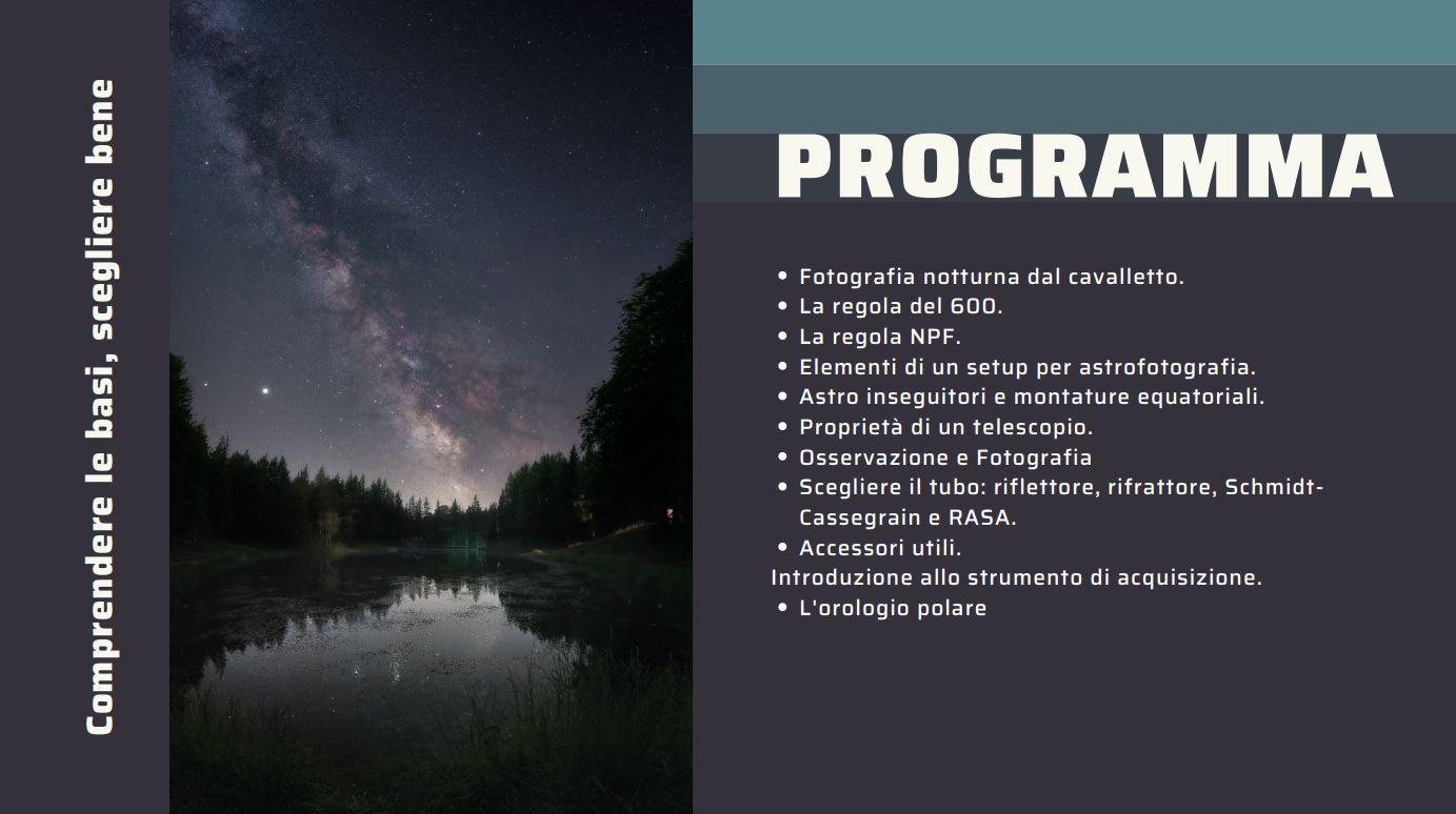 Orientamento all'astrofotografia: il telescopio e la montatura regola del 600 500 450 astroinseguitore