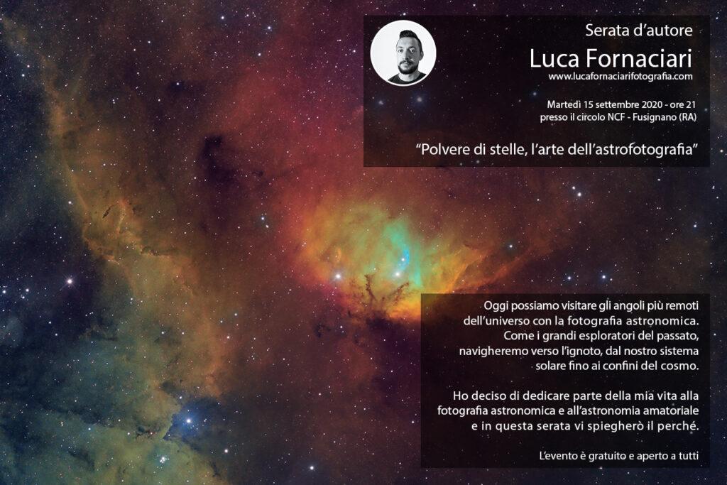 Polvere di stelle l'arte dell'astrofotografia al circolo NCF