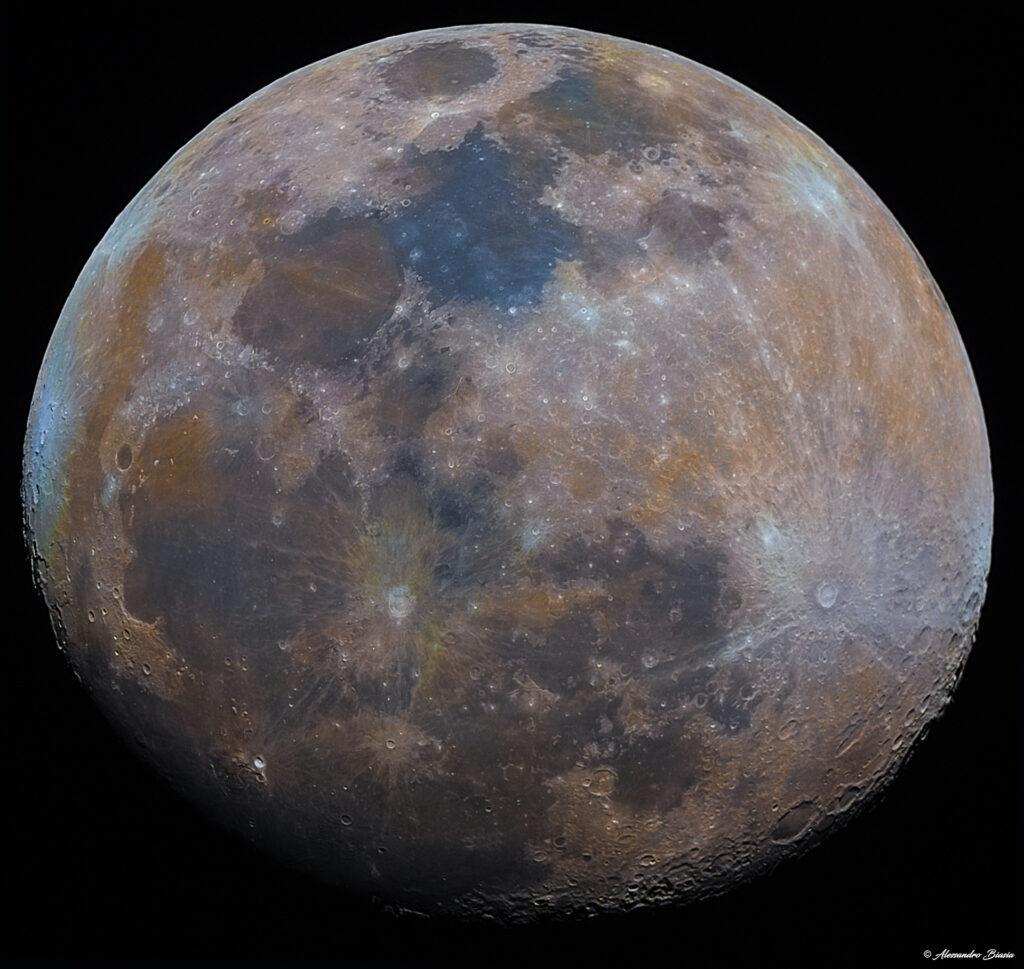 Tutorial di elaborazione sulla Mineral Moon con Photoshop