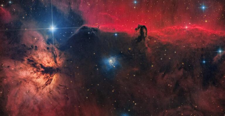 Luca Fornaciari Astrofotografia nebulosa testa di cavallo