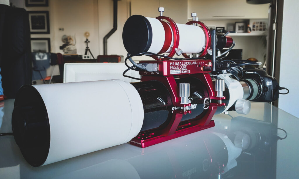 Astrofotografia con reflex e Eagle Core