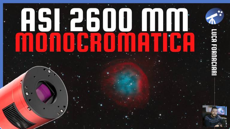 Recensione camera CMOS ZWO ASI 2600 MM Pro Monocromatica